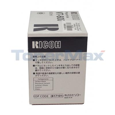 RICOH SS810 SS915 PRIPORT INK VT-600 BLACK